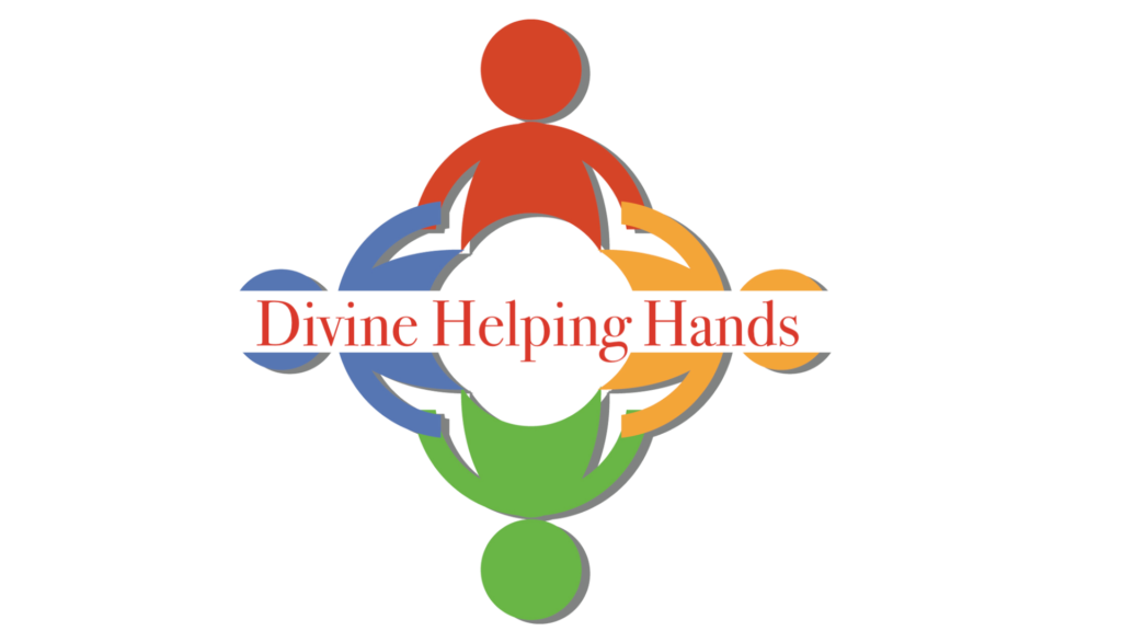 DIVINE HELPING HANDS LOGO